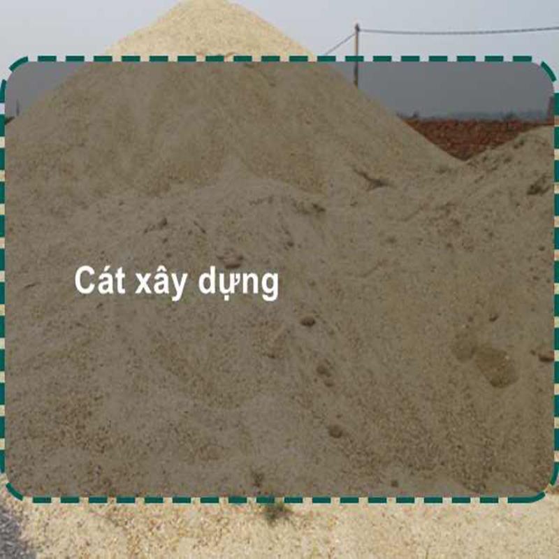 Giá cát xây dựng ưu đãi lớn