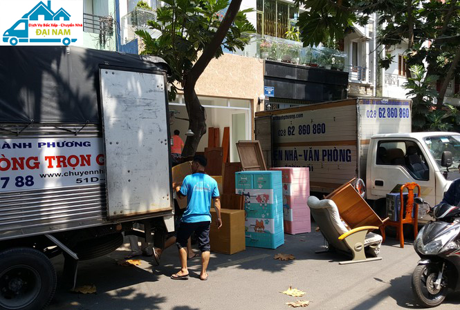 Dịch vụ chuyển nhà quận Phú Nhuận uy tín nhanh chóng giá rẻ